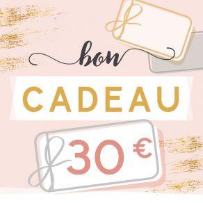BON CADEAU 30 EUROS par . Scrapbooking et loisirs créatifs. Livraison rapide et cadeau dans chaque commande.