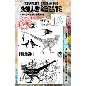 Tampons clear AALL and Create PHEASANT 454