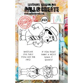 Tampons clear AALL and Create STAN & OLLIE 474 par AALL & Create. Scrapbooking et loisirs créatifs. Livraison rapide et cadea...