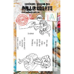 Tampons clear AALL and Create MARILYN 475 par AALL & Create. Scrapbooking et loisirs créatifs. Livraison rapide et cadeau dan...