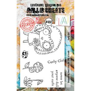 Tampons clear AALL and Create CURLY GIRL 480