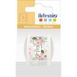 80 stickers TIMBRES LOVE par Artemio. Scrapbooking et loisirs créatifs. Livraison rapide et cadeau dans chaque commande.