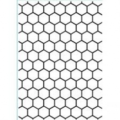 Plaque d\'embossage HONEYCOMB