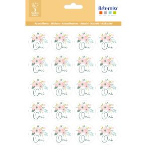 Stickers RONDS OUI par Artemio. Scrapbooking et loisirs créatifs. Livraison rapide et cadeau dans chaque commande.