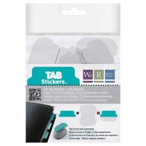 12 autocollants pour onglets TAB STICKERS FILE par We R Memory Keepers. Scrapbooking et loisirs créatifs. Livraison rapide et...