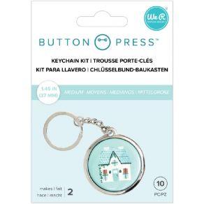 2 accessoires porte-clés pour BUTTON PRESS KEYCHAIN KIT par We R Memory Keepers. Scrapbooking et loisirs créatifs. Livraison ...