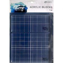 2 blocs acryliques pour tampons clear par Simon Hurley. Scrapbooking et loisirs créatifs. Livraison rapide et cadeau dans cha...