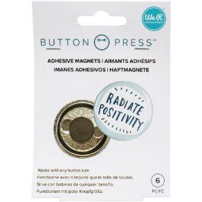 6 aimants pour BUTTON PRESS ADHESIVE MAGNETS par We R Memory Keepers. Scrapbooking et loisirs créatifs. Livraison rapide et c...