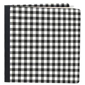 Album à pochettes Snap Flipbook BLACK BUFFALO CHECK 15X20 par Simple Stories. Scrapbooking et loisirs créatifs. Livraison rap...