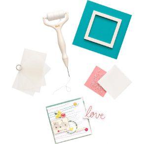 Kit de broderie STITCH HAPPY PEN par We R Memory Keepers. Scrapbooking et loisirs créatifs. Livraison rapide et cadeau dans c...