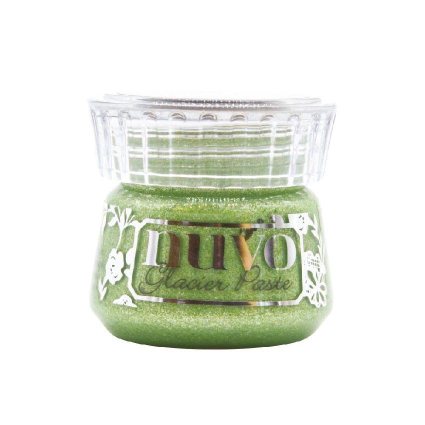 Pâte de texture Nuvo Glacier Paste GREEN ENVY par Tonic Studios. Scrapbooking et loisirs créatifs. Livraison rapide et cadeau...