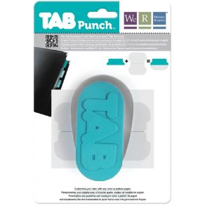 Perforatrice à onglets TAB PUNCH FILE par We R Memory Keepers. Scrapbooking et loisirs créatifs. Livraison rapide et cadeau d...