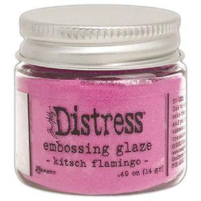 Poudre à embosser Embossing Glaze Distress KITSCH FLAMINGO par Ranger. Scrapbooking et loisirs créatifs. Livraison rapide et ...
