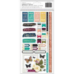Stickers Storyteller PHRASE & WORDS par American Crafts. Scrapbooking et loisirs créatifs. Livraison rapide et cadeau dans ch...