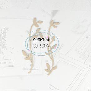 Outil de découpe FEUILLE LÉGÈRE par Comptoir du Scrap. Scrapbooking et loisirs créatifs. Livraison rapide et cadeau dans chaq...