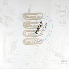 Outil de découpe TROMBONES MOTS par Comptoir du Scrap. Scrapbooking et loisirs créatifs. Livraison rapide et cadeau dans chaq...