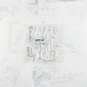 Tampon clear IRIS par Comptoir du Scrap. Scrapbooking et loisirs créatifs. Livraison rapide et cadeau dans chaque commande.
