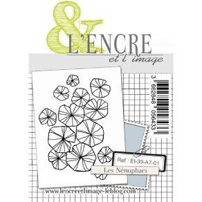 Tampons clear LES NENUPHARS par L'Encre et l'Image. Scrapbooking et loisirs créatifs. Livraison rapide et cadeau dans chaque ...