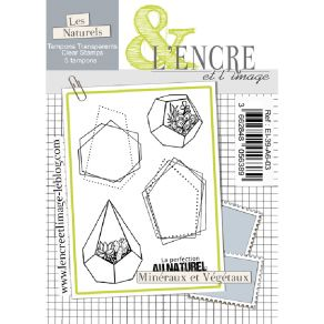 Tampons clear MINERAUX ET VEGETAUX par L'Encre et l'Image. Scrapbooking et loisirs créatifs. Livraison rapide et cadeau dans ...