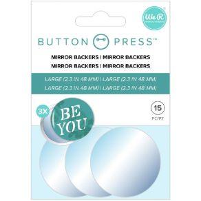 3 accessoires miroirs pour BUTTON PRESS ADHESIVE MIRRORS par We R Memory Keepers. Scrapbooking et loisirs créatifs. Livraison...