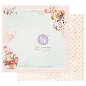 Papier imprimé Magic Love ON A PINK CLOUD par Prima Marketing. Scrapbooking et loisirs créatifs. Livraison rapide et cadeau d...