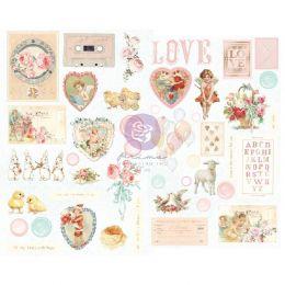 Stickers cartonnés MAGIC LOVE par Prima Marketing. Scrapbooking et loisirs créatifs. Livraison rapide et cadeau dans chaque c...