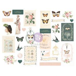 Stickers cartonnés MY SWEET par Prima Marketing. Scrapbooking et loisirs créatifs. Livraison rapide et cadeau dans chaque com...