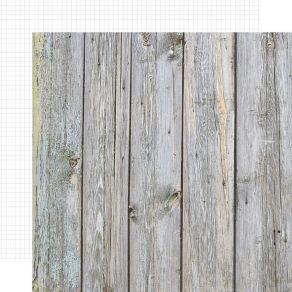 Papier imprimé effet bois BIRCH/WHITE GRID par Simple Stories. Scrapbooking et loisirs créatifs. Livraison rapide et cadeau d...