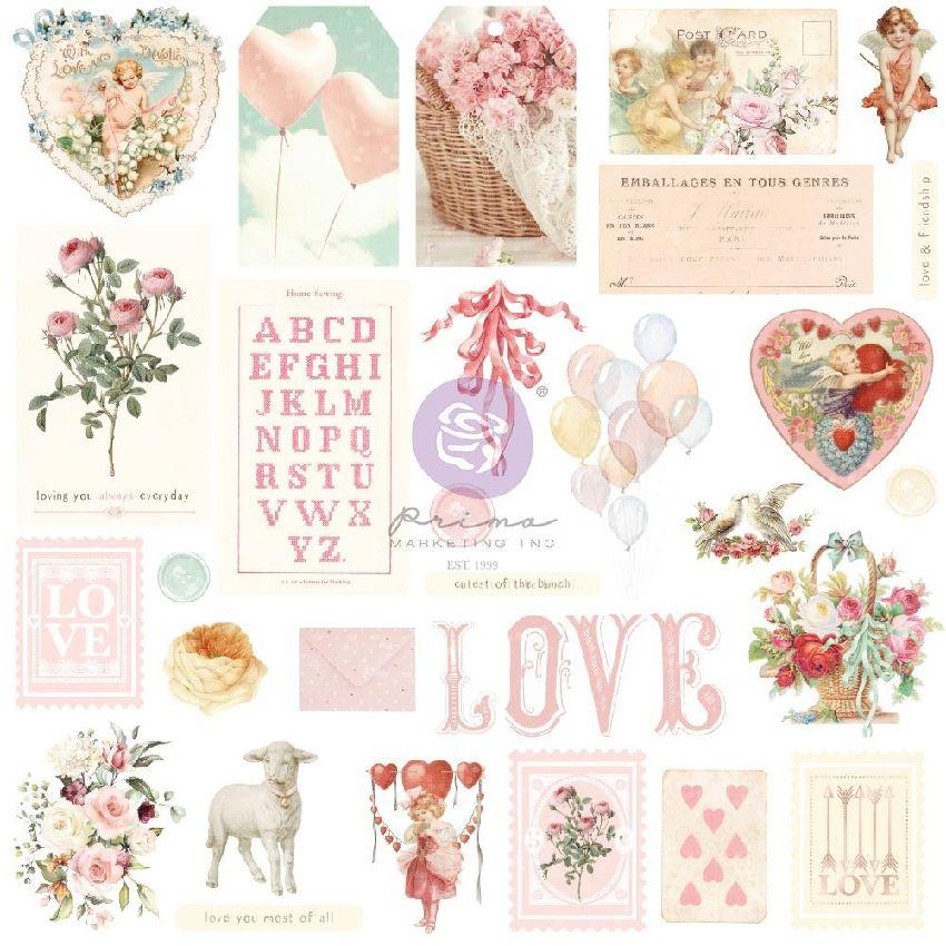 29 die cuts Magic Love SHAPES, TAGS, WORDS par Prima Marketing. Scrapbooking et loisirs créatifs. Livraison rapide et cadeau ...