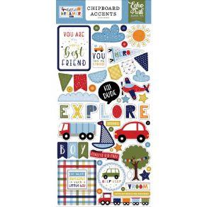 Chipboards Little Dreamer Boy ACCENTS par Echo Park. Scrapbooking et loisirs créatifs. Livraison rapide et cadeau dans chaque...