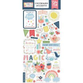 Chipboards Little Dreamer Girl ACCENTS par Echo Park. Scrapbooking et loisirs créatifs. Livraison rapide et cadeau dans chaqu...