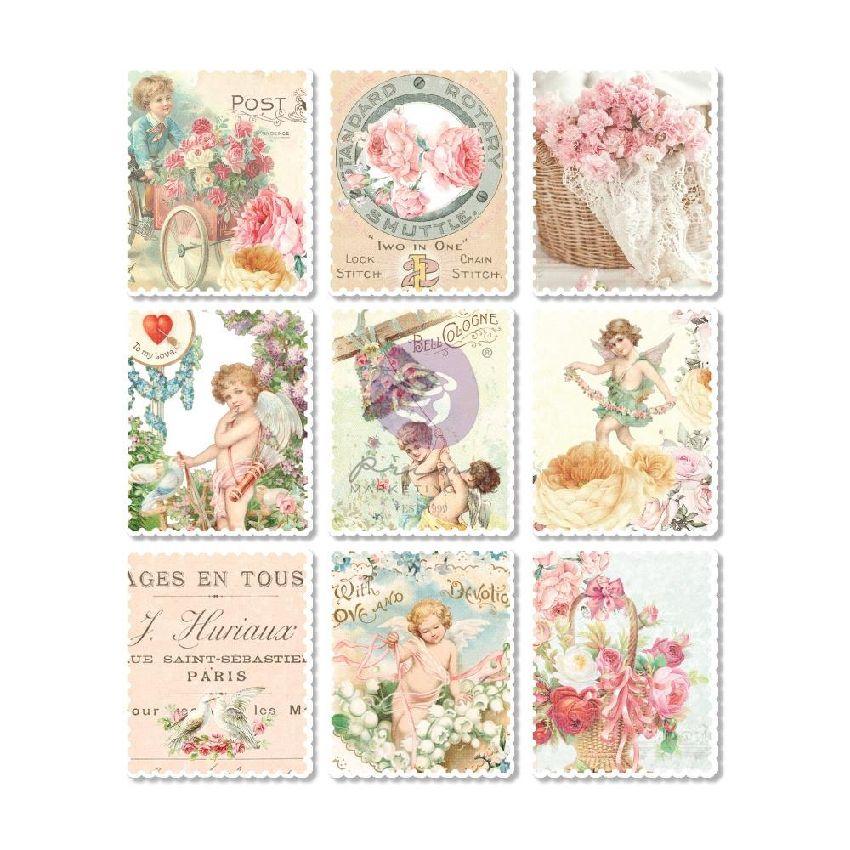 Stickers bois MAGIC LOVE par Prima Marketing. Scrapbooking et loisirs créatifs. Livraison rapide et cadeau dans chaque commande.