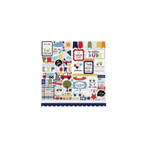 Stickers Little Dreamer Boy ELEMENTS par Echo Park. Scrapbooking et loisirs créatifs. Livraison rapide et cadeau dans chaque ...
