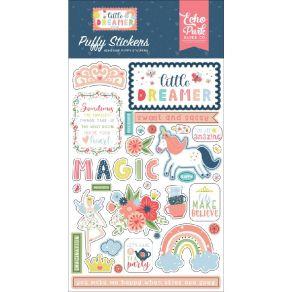 Stickers puffy LITTLE DREAMER GIRL par Echo Park. Scrapbooking et loisirs créatifs. Livraison rapide et cadeau dans chaque co...