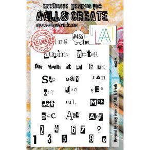Tampons clear SEASONS 455 par AALL & Create. Scrapbooking et loisirs créatifs. Livraison rapide et cadeau dans chaque commande.