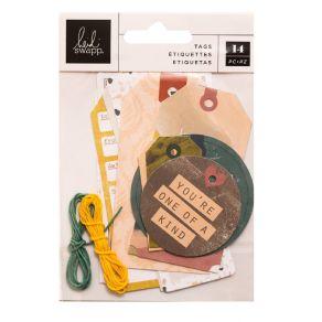 Die cuts CAREFREE par Heidi Swapp. Scrapbooking et loisirs créatifs. Livraison rapide et cadeau dans chaque commande.