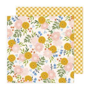 Papier imprimé Maggie Holmes Garden Party BLOSSOMS FOR YOU par American Crafts. Scrapbooking et loisirs créatifs. Livraison r...