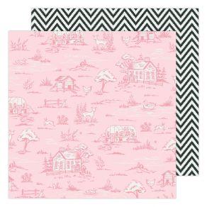 Papier imprimé Maggie Holmes Garden Party COUNTRYSIDE par American Crafts. Scrapbooking et loisirs créatifs. Livraison rapide...