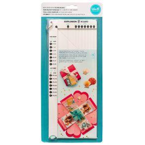 Punchboard We R Memory Keepers pour boîte à explosion EXPLOSION par We R Memory Keepers. Scrapbooking et loisirs créatifs. Li...