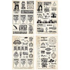 Carnet de stickers Harry Potter PAPERS & PROCLAMATIONS par Paper House. Scrapbooking et loisirs créatifs. Livraison rapide et...