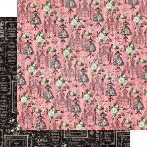 Papier imprimé Elegance ENCHANTING par Graphic 45. Scrapbooking et loisirs créatifs. Livraison rapide et cadeau dans chaque c...