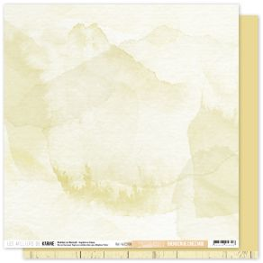 Papier uni 30,5 x 30,5 cm Back To Basics BIENVENUE CHEZ MOI 9 par Les Ateliers de Karine. Scrapbooking et loisirs créatifs. L...