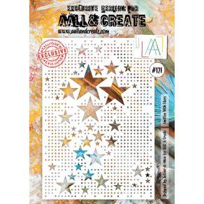 Pochoir AALL and Create SMITTEN WITH STARS 121 par AALL & Create. Scrapbooking et loisirs créatifs. Livraison rapide et cadea...