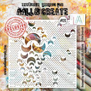 Pochoir AALL and Create LOTZA CRESCENTZ 123