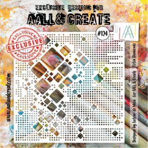 Pochoir AALL and Create LOTZA DIAMONDZ 124