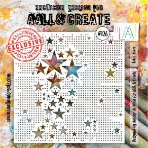 Pochoir AALL and Create LOTZA STARZ 126