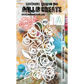 Masque AALL and Create ROSES IN BLOOM 127