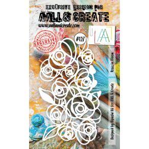 Masque AALL and Create ROSES IN BLOOM 127 par AALL & Create. Scrapbooking et loisirs créatifs. Livraison rapide et cadeau dan...
