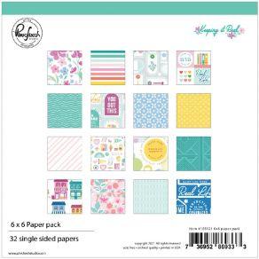 Bloc 15 x 15 KEEPING IT REAL par Pinkfresh Studio. Scrapbooking et loisirs créatifs. Livraison rapide et cadeau dans chaque c...