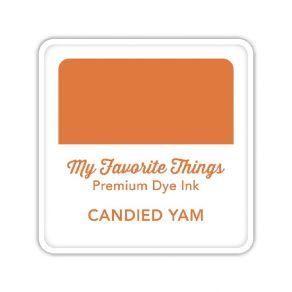 Encre Premium Dye Ink Cube CANDIED YAM par My Favorite Things. Scrapbooking et loisirs créatifs. Livraison rapide et cadeau d...